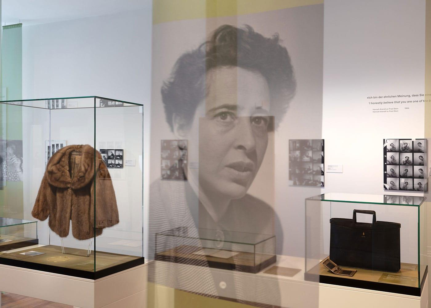 Hannah Arendt Ausstellung im Deutschen Historischen Museum Berlin // HIMBEER