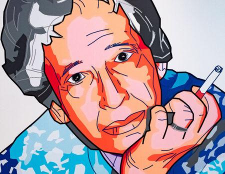 Tape Art zu Hannah Arendt – Ausstellung im DHM, Berlin // HIMBEER