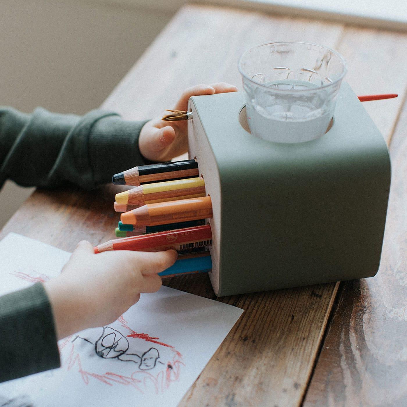 Lieblingssachen für Kinder: Stiftehalter creative cube // HIMBEER