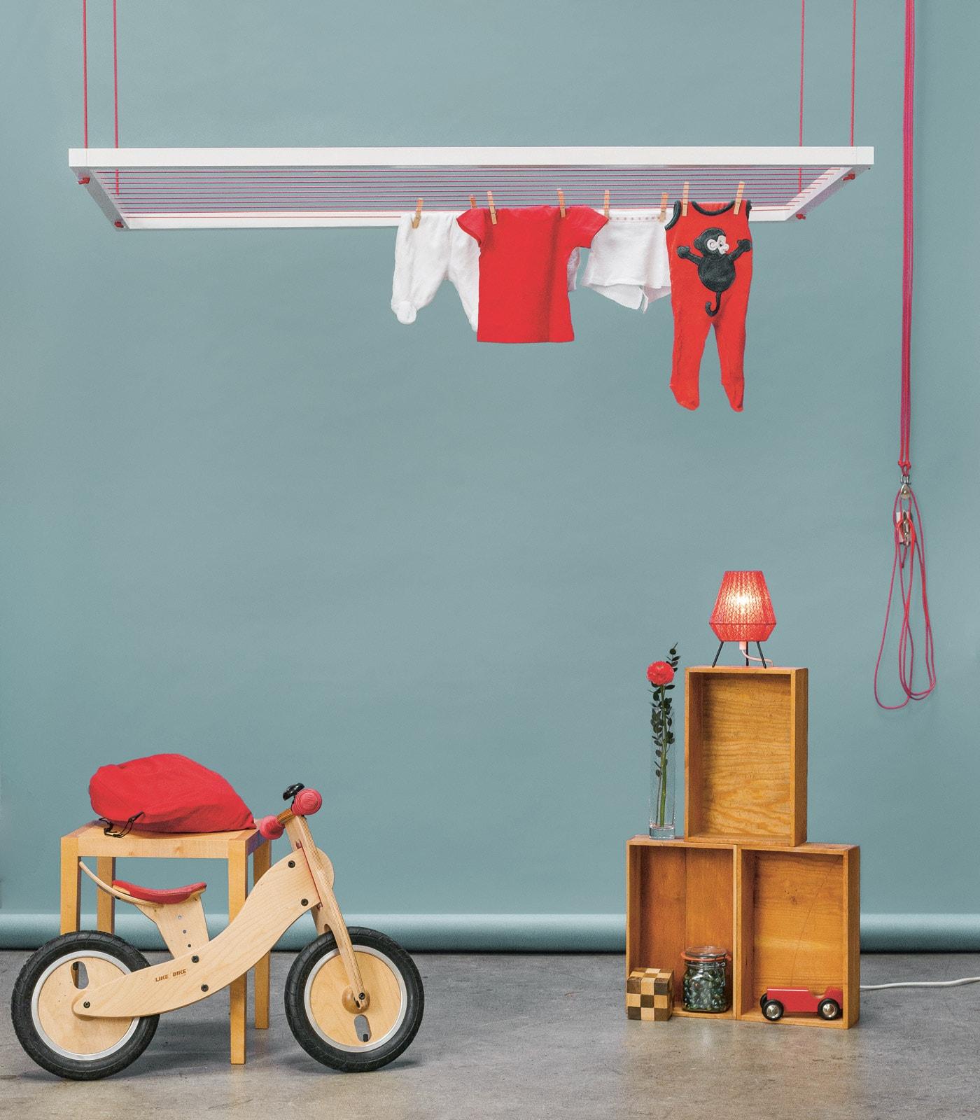 Lieblingssachen für Familien: Hangbird Wäscheständer // HIMBEER
