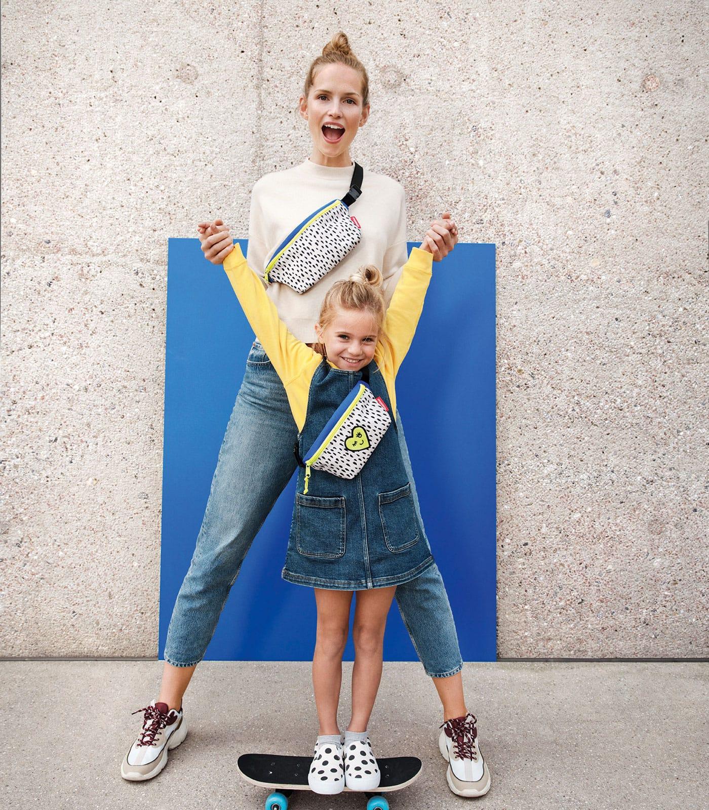 Schöne Taschen im Partnerlook für Mama und Kind // HIMBEER