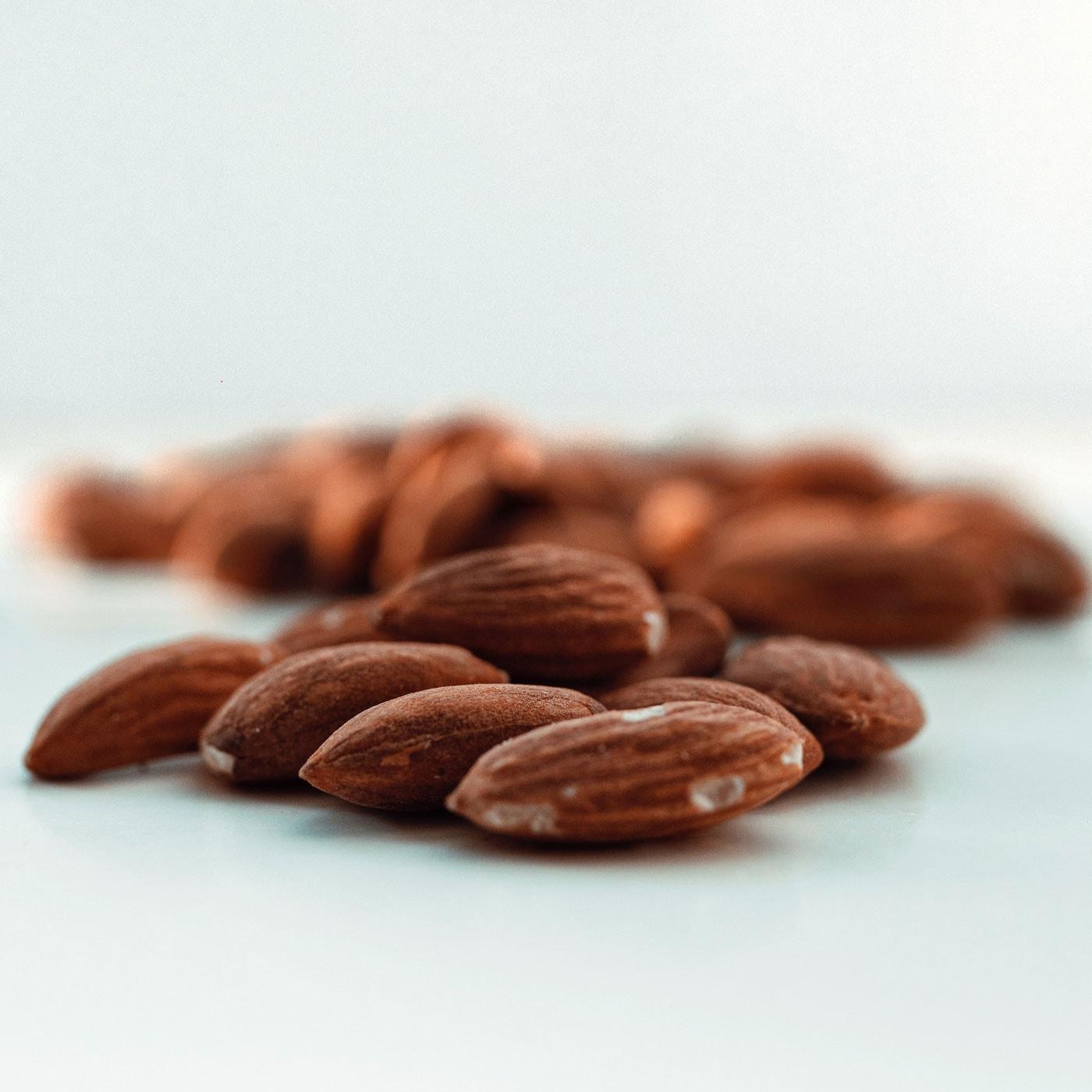 Zutaten Mandelmus – ayurvedisches Rezept // HIMBEER