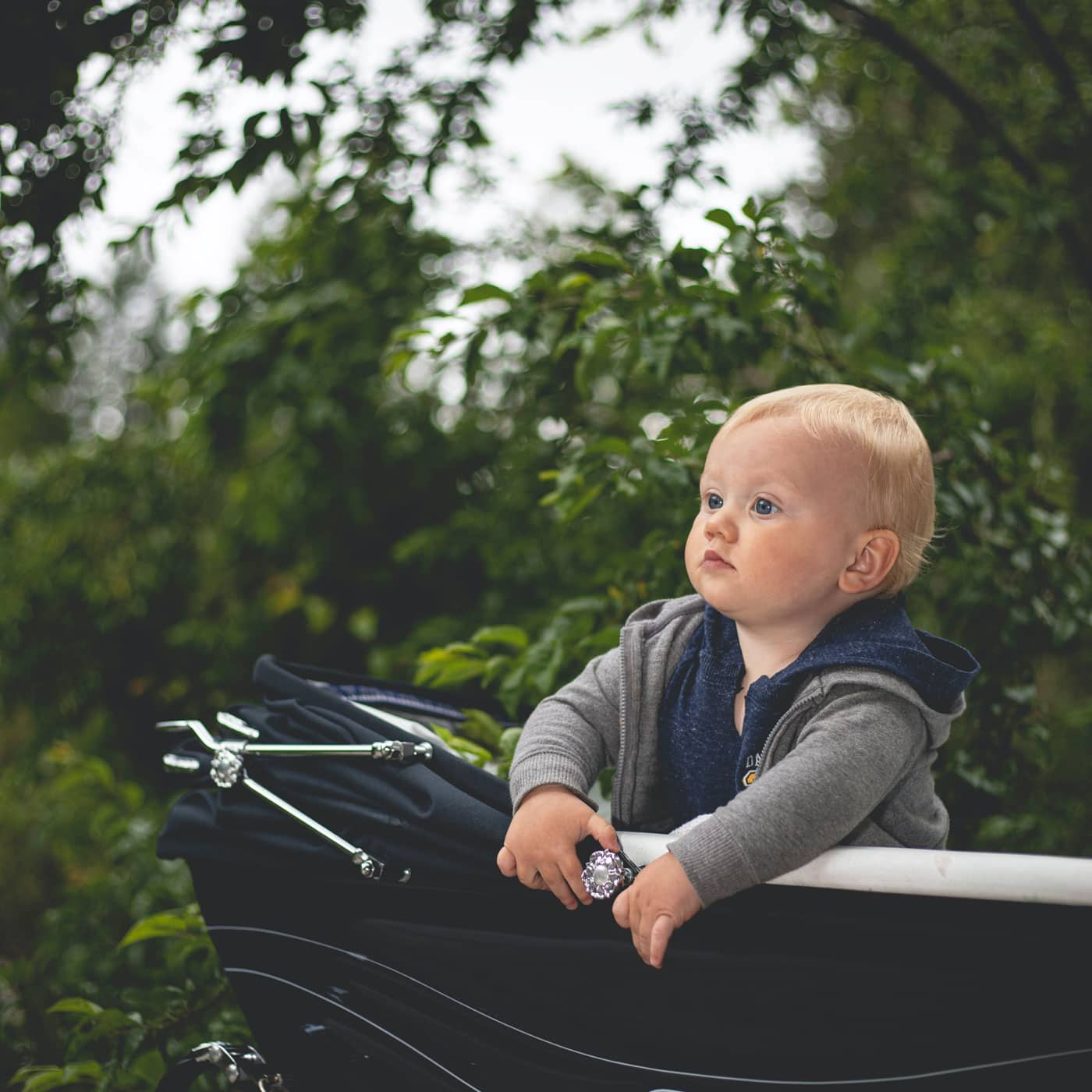 Berlin mit Baby: Spaziergang mit Kinderwagen // HIMBEER