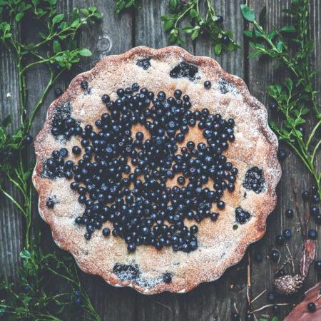 Heidelbeerkuchen – Kuchen mit leckeren Heidelbeeren // HIMBEER