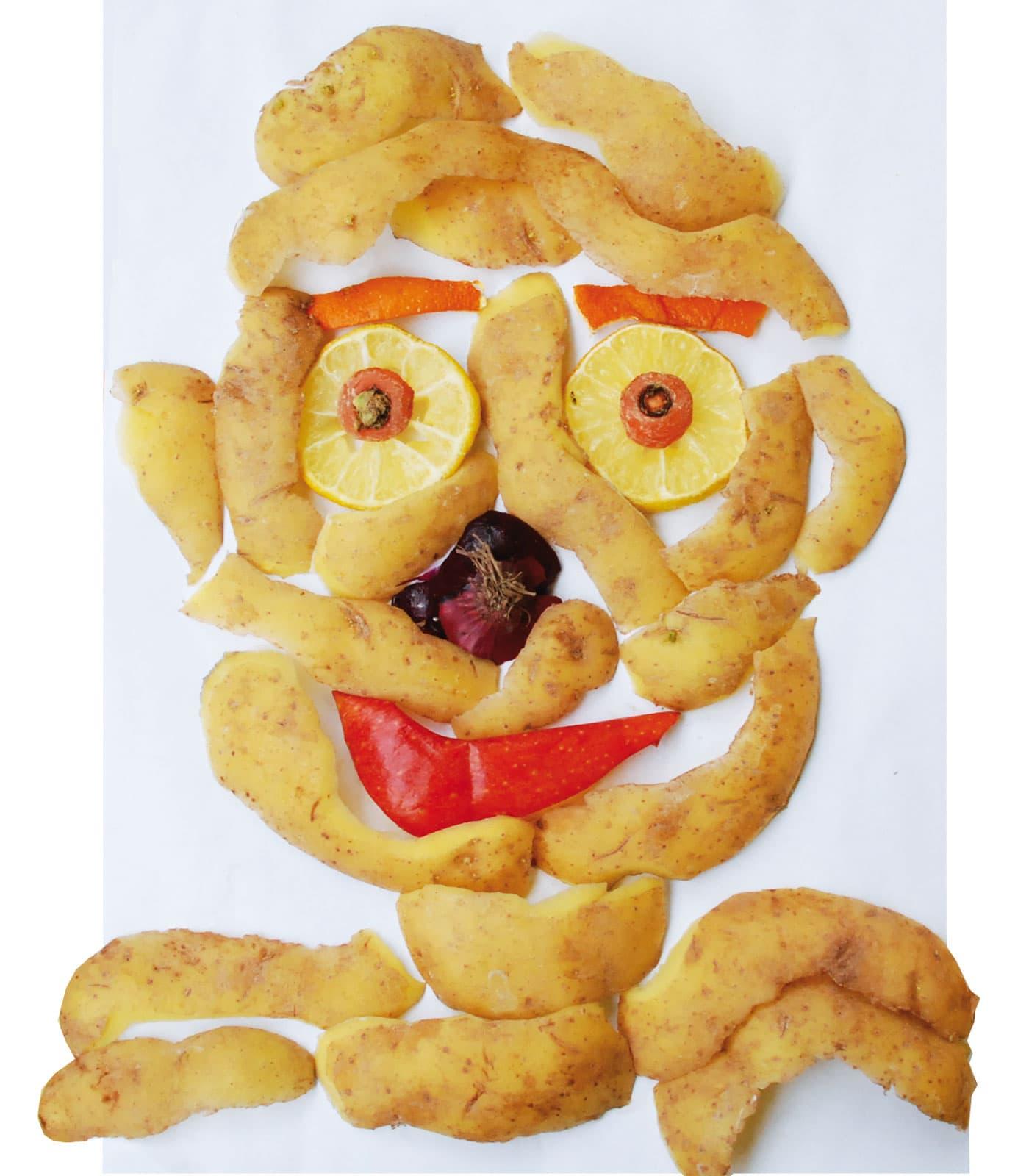 Jugend im Museum – Kreative Projekte für Kinder: Gsichter aus Kartoffelschalen// HIMBER