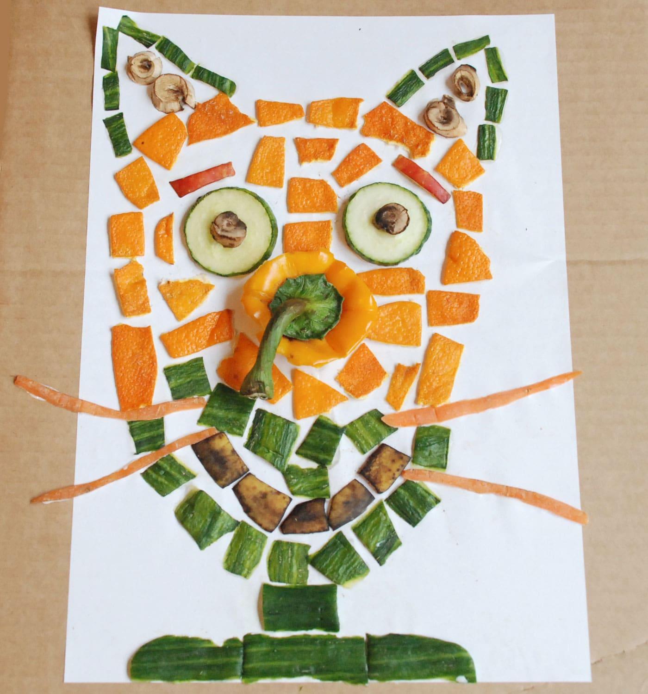JiMonLine – Kreative Projekte für Kinder: Obstgesichter// HIMBER