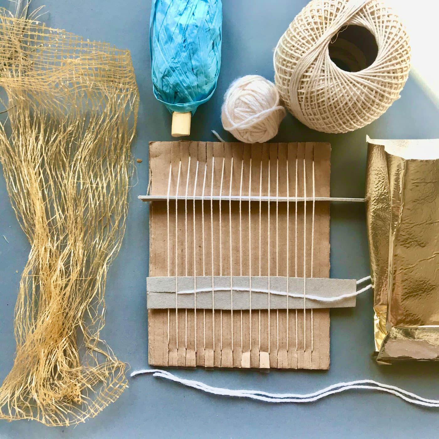 JiMonLine – Kreative Projekte für Kinder: Wandschmuck selber machen // HIMBER