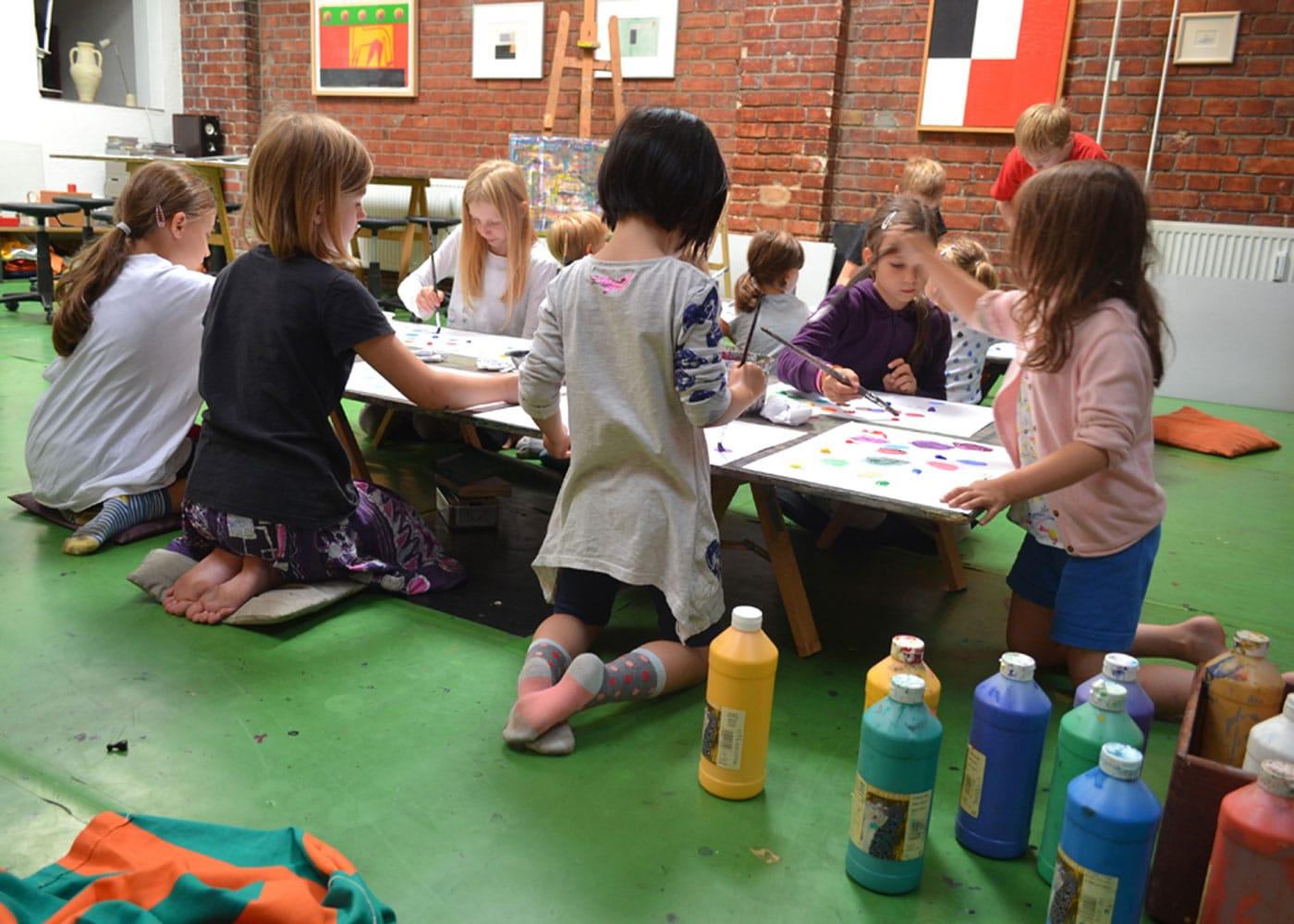 Sommerferien-Kunstkurse für Kinder in Berlin-Mitte // HIMBEER