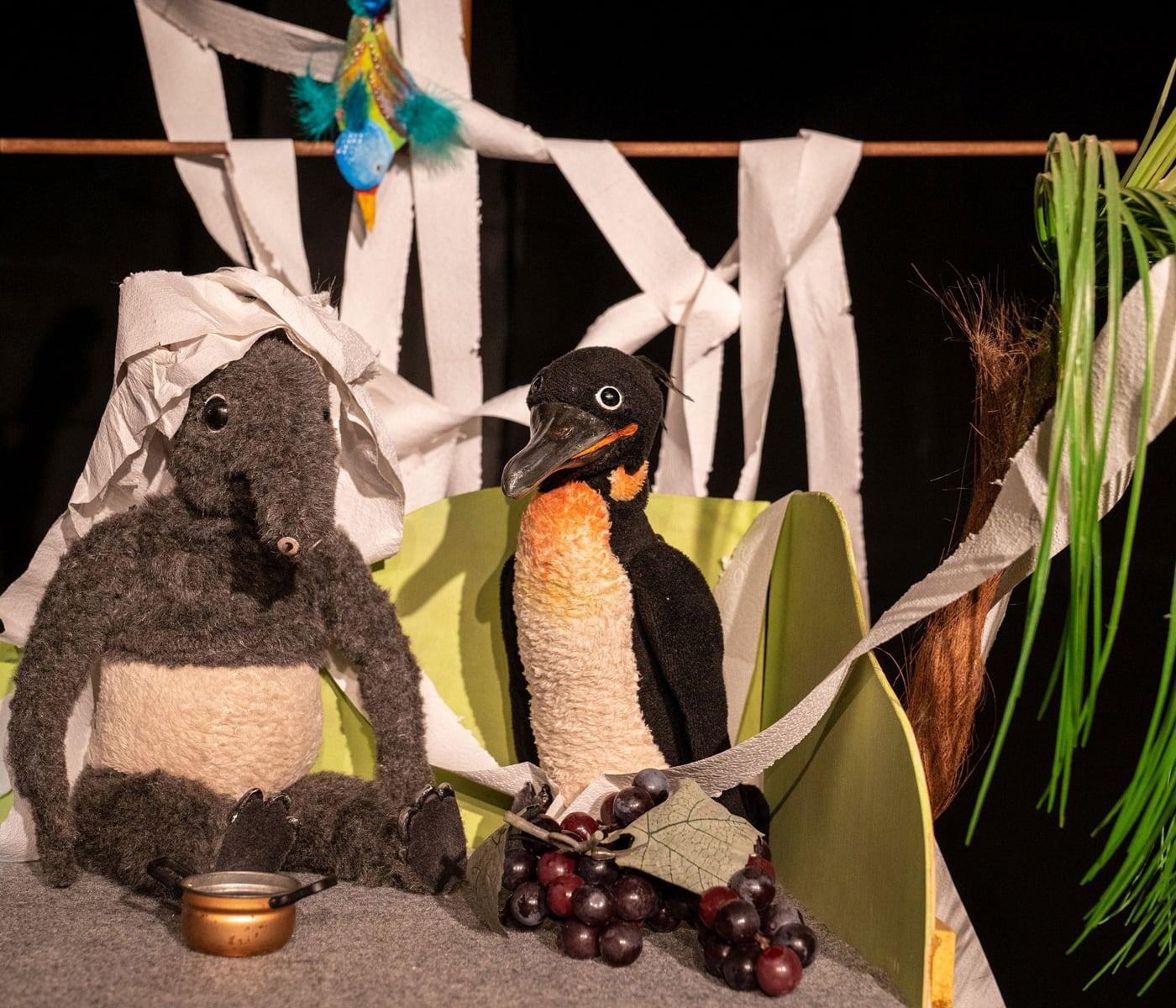 Open Air Kindertheater in Berlin: Gordon und Tapir // HIMBEER