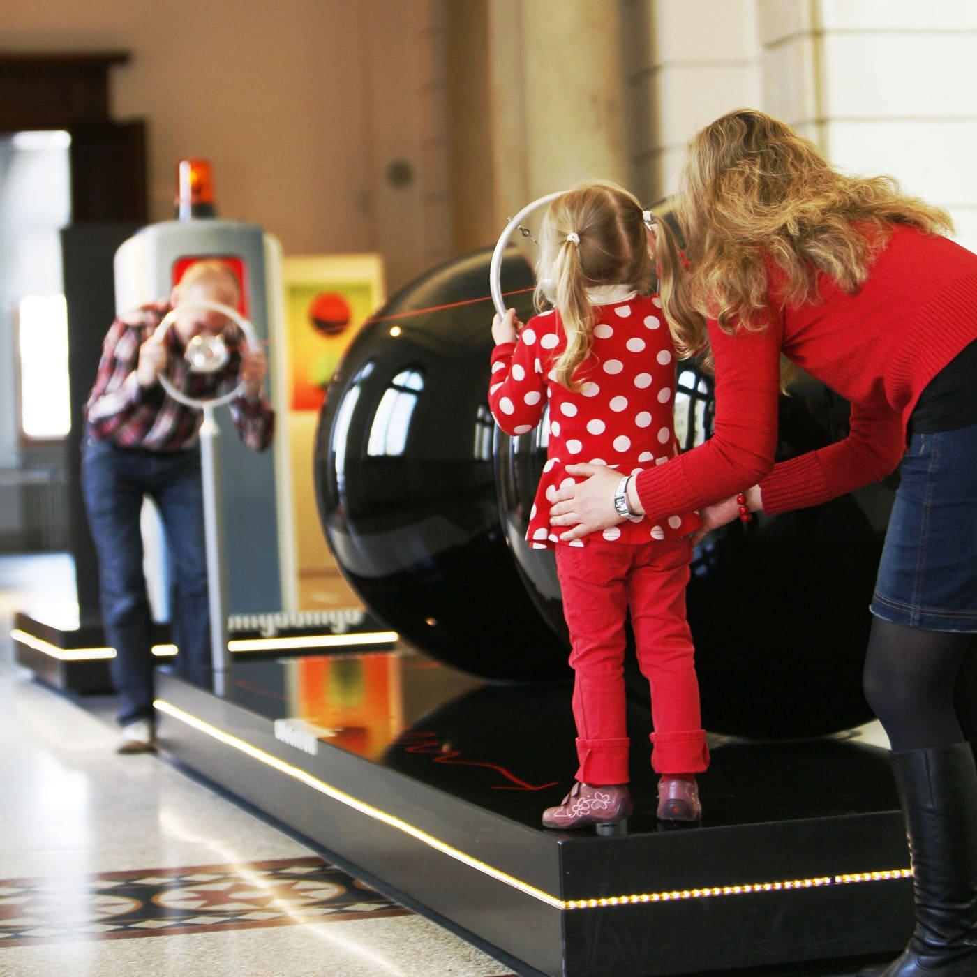 Kommunikationsgalerie im Museum für Kommunikation Berlin – Top Museen für Kinder in Berlin // HIMBEER