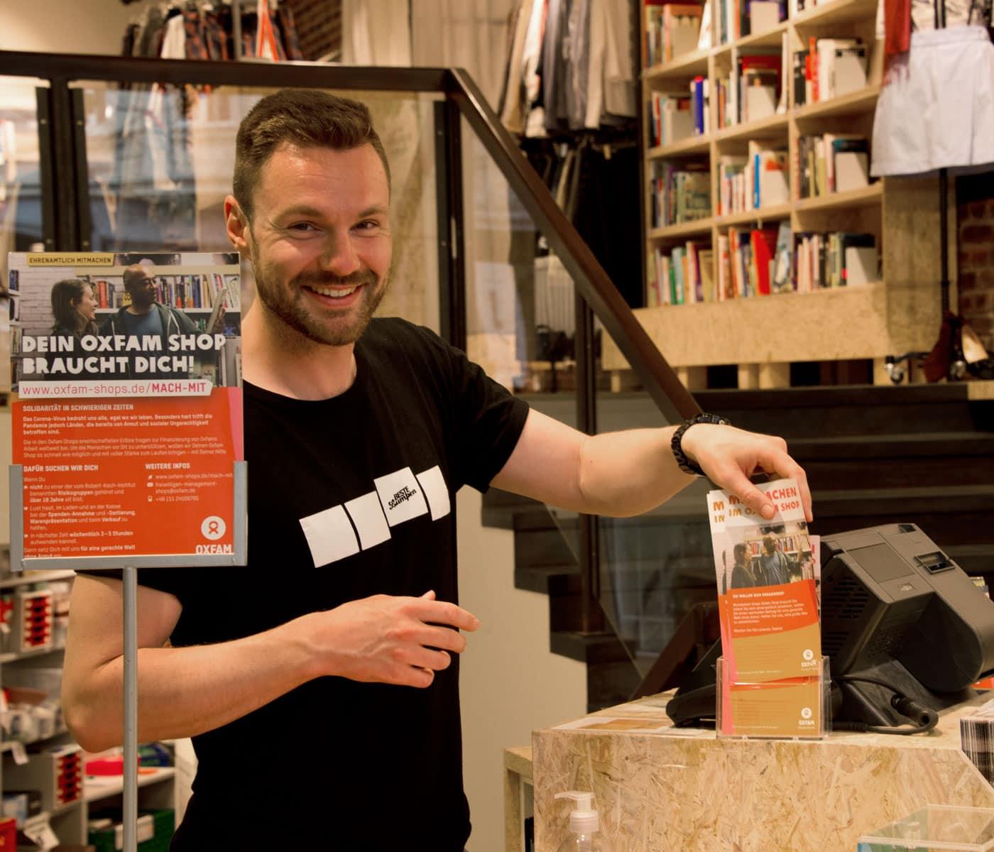 Ehrenamtlich helfen bei Oxfam in Berlin // HIMBEER