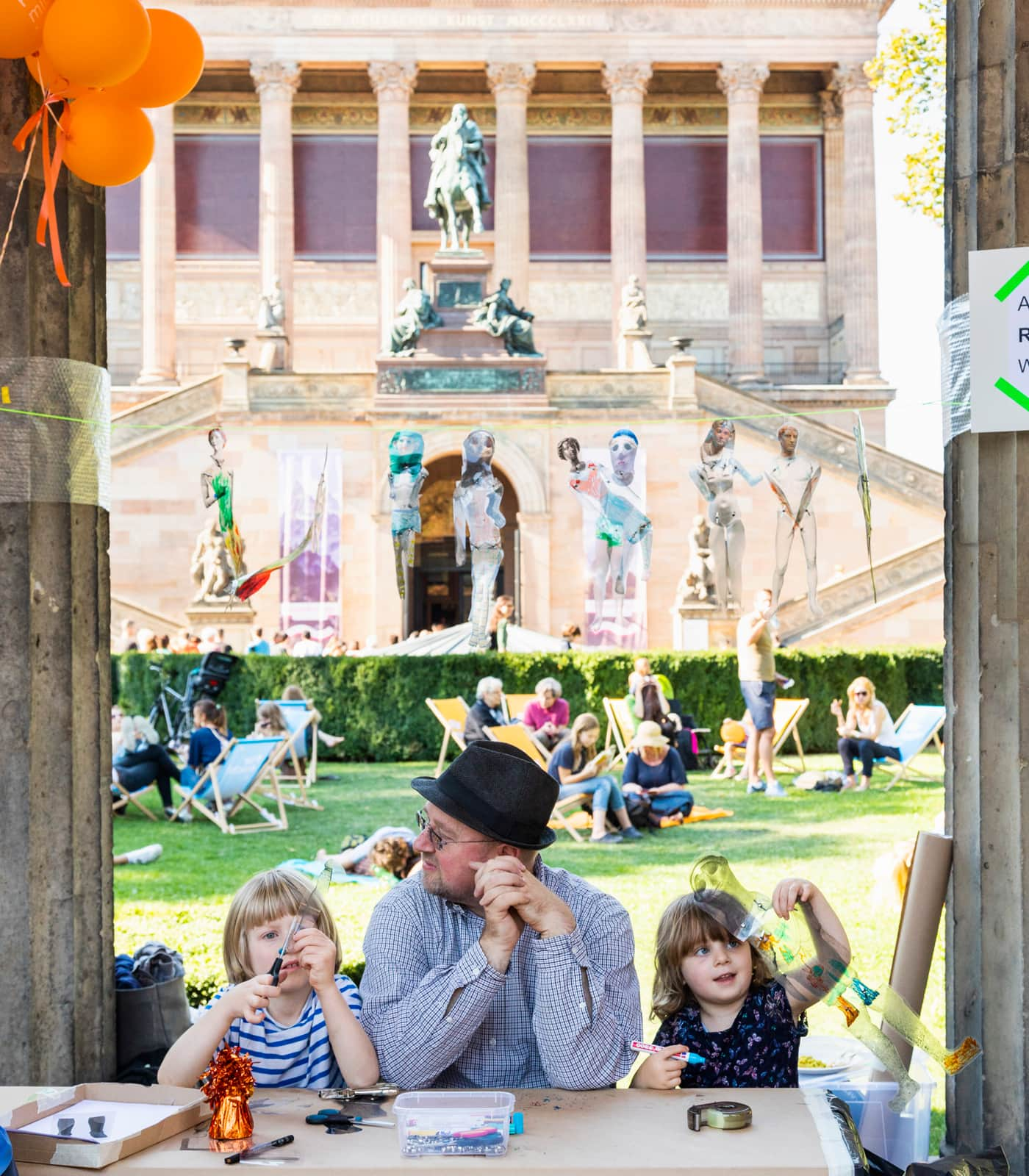 Sommerferienprogramm 2020 für Kinder der Staatlichen Museen zu Berlin // HIMBEER
