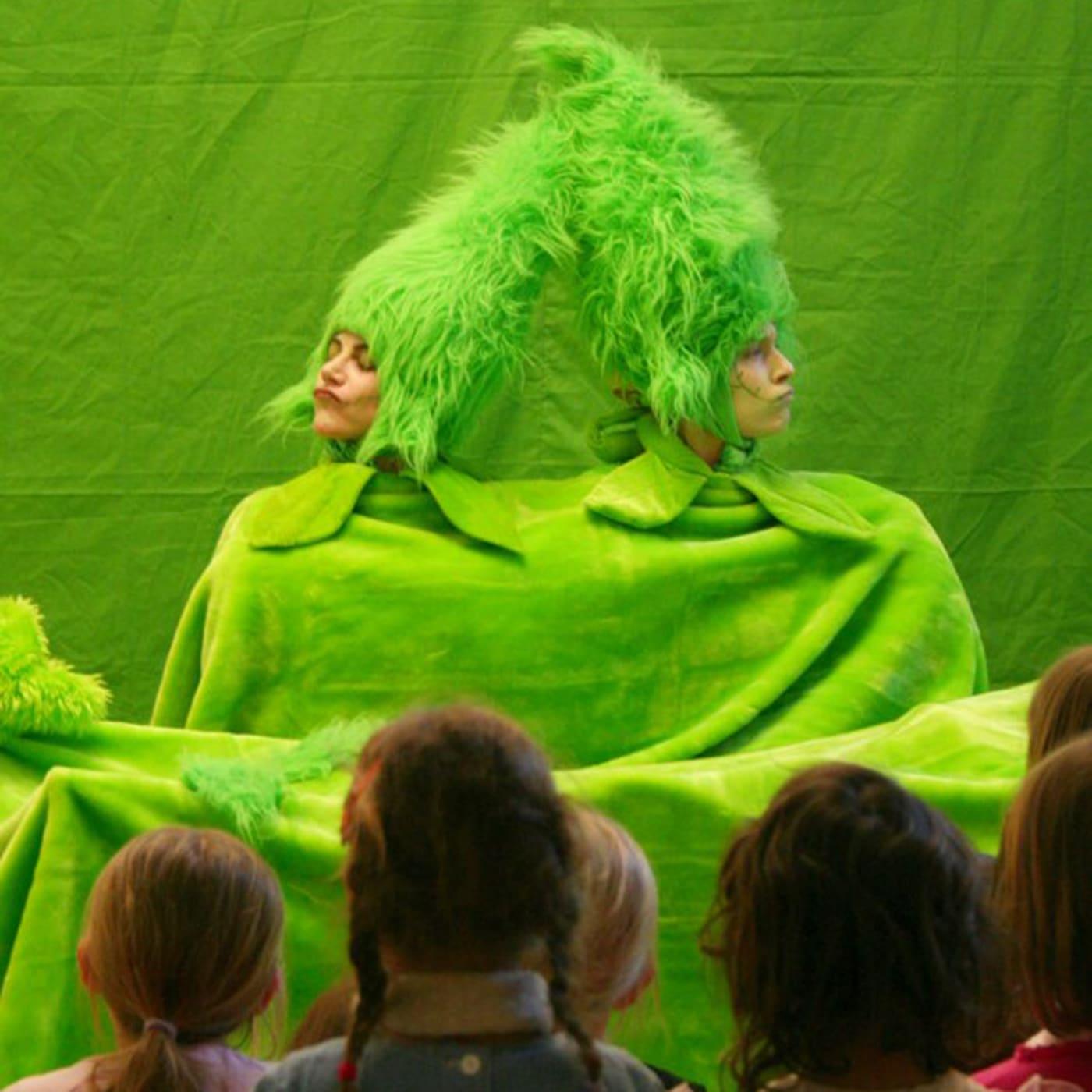 Puppentheater für Kinder: Bli Bla Blütentanz // HIMBEER