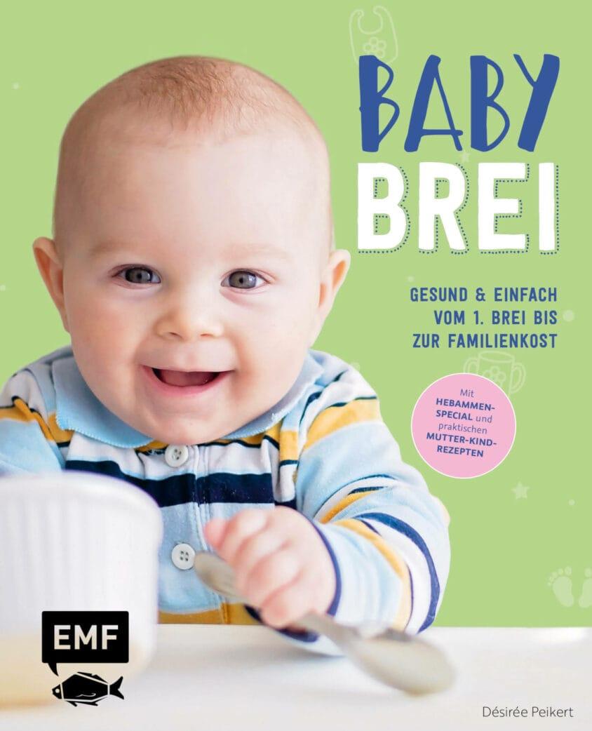 Fruchtiger Gertreidebrei für Babys // HIMBEER