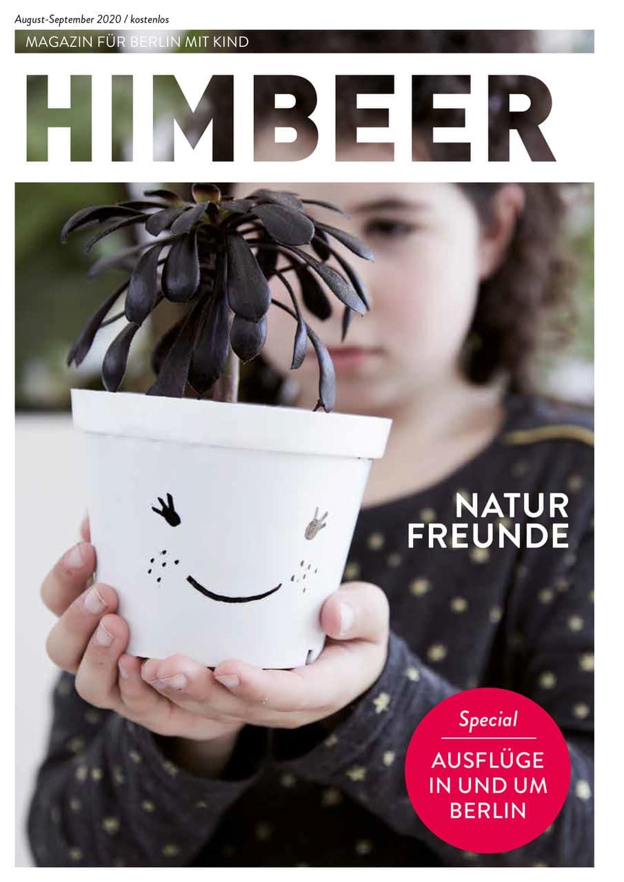 HIMBEER Magazin für Berlin mit Kind – August-September-Ausgabe 2020 // HIMBEER