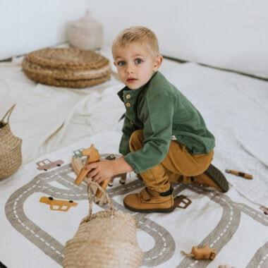Nachhaltige Kindermode von frankie & lou // HIMBEER