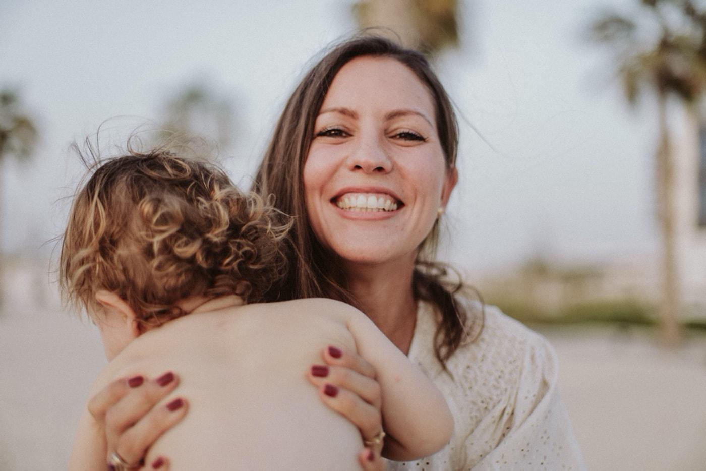 Gründerin der veganen Babypflegeproduktlinie Sophie's Universe Melanie Schneider // HIMBEER