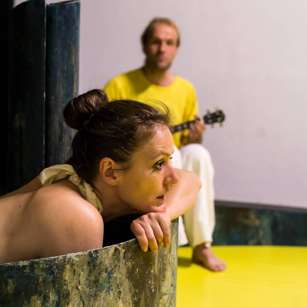 Mini-Tipps: Berlin mit Baby im August: Theater o.N // HIMBEER