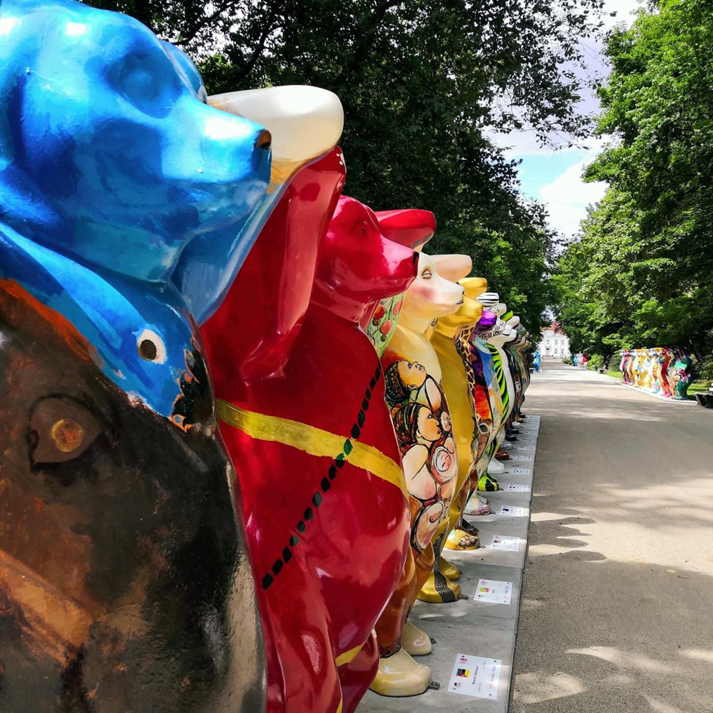 Ausflug am Sommerwochenende: United Buddy Bears Ausstellung im Tierpark Berlin // HIMBEER