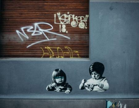 Berlin für Kinder: Street Art // HIMBEER