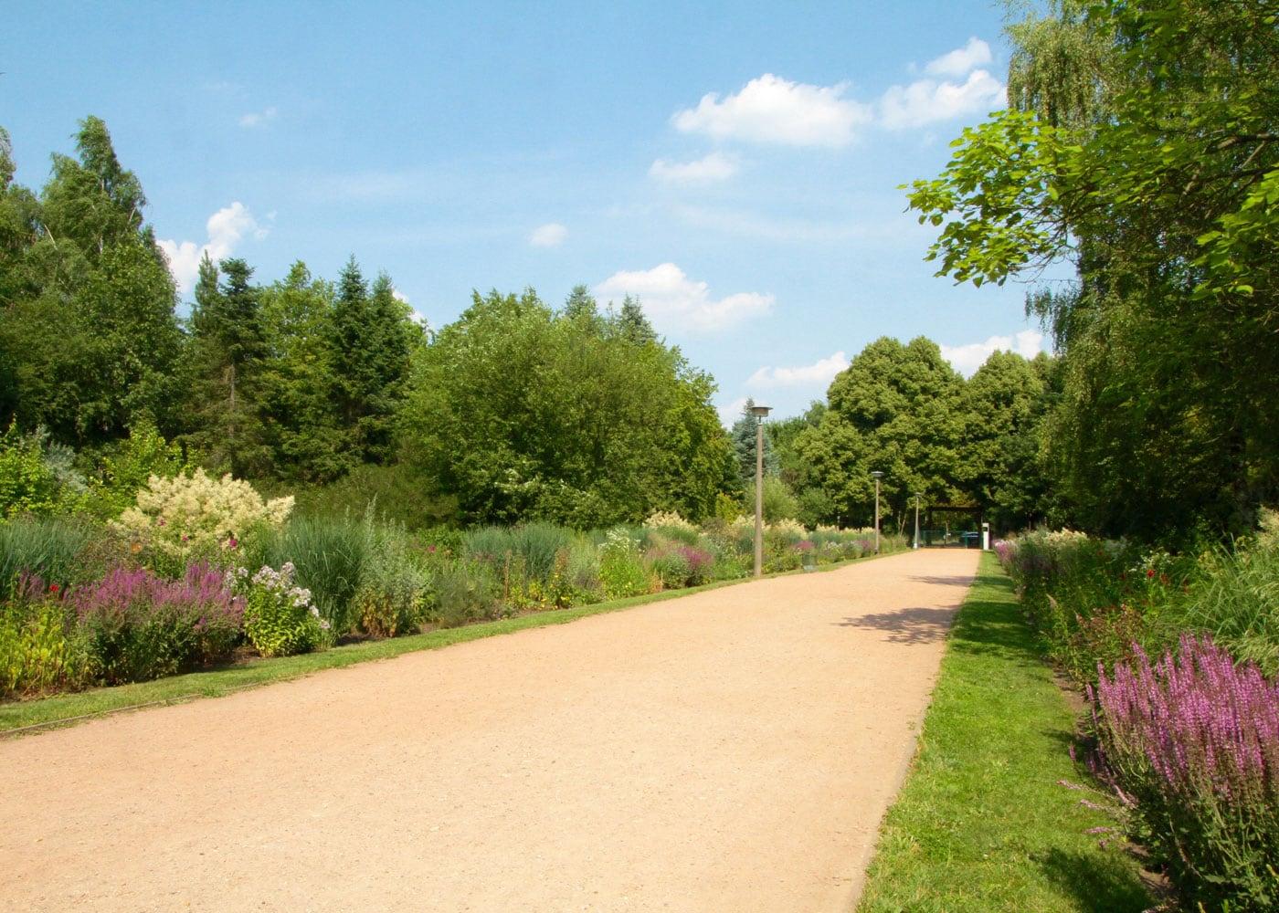 Gartentage mit Kindern: Botanischer Volkspark Blankenfelde Berlin // HIMBEER