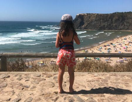 Ausblick auf den Atlantik – Campingtour mit Bulli durch Portugal // HIMBEER