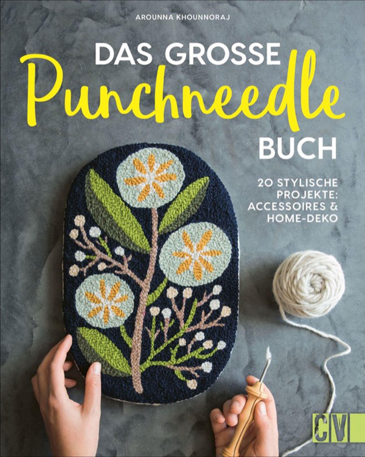 Punchneedle Topfmanschette– DIY-Anleitung // HIMBEER