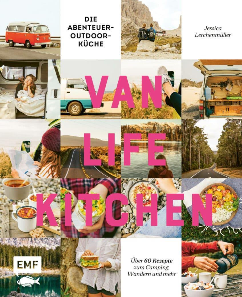 Focaccia mit Brombeeren und Rosmarin aus Van Life Kitchen // HIMBEER