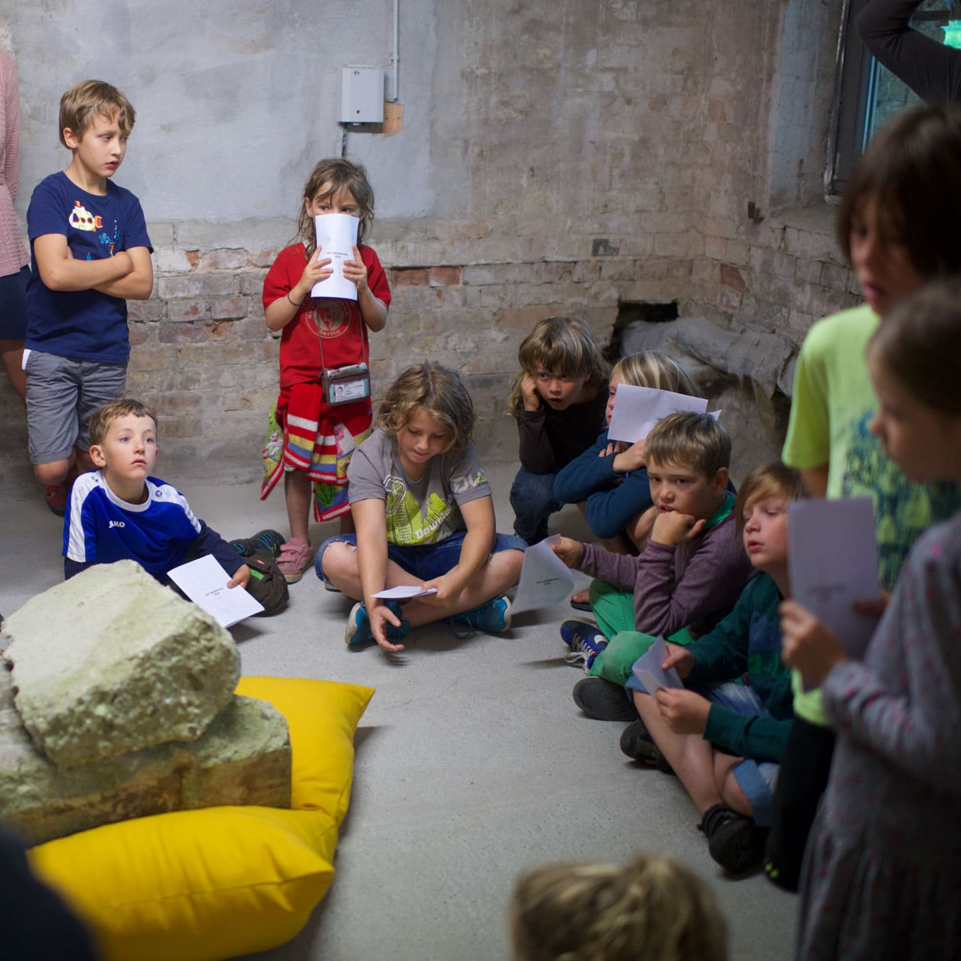 Family Day bei der Art Biesenthal // HIMBEER