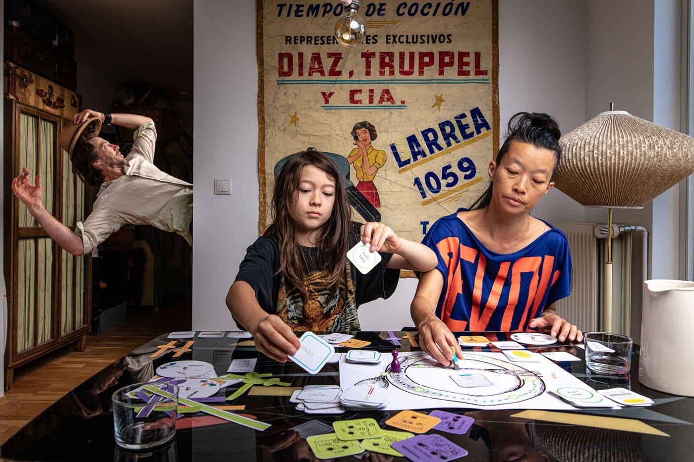 Kulturtipp für Kinder in Berlin: Tanzkomplizen-Tanzstück: Familienportrait Orbit // HIMBEER