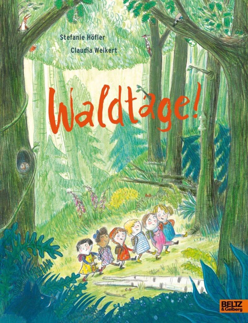 Kinderbuch über den Wald: Waldtage // HIMBEER