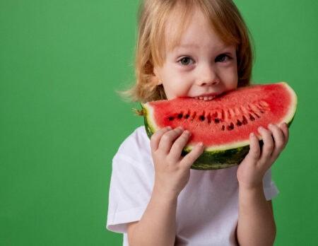 Wassermelone als Erfrischung an heißen Tagen // HIMBEER