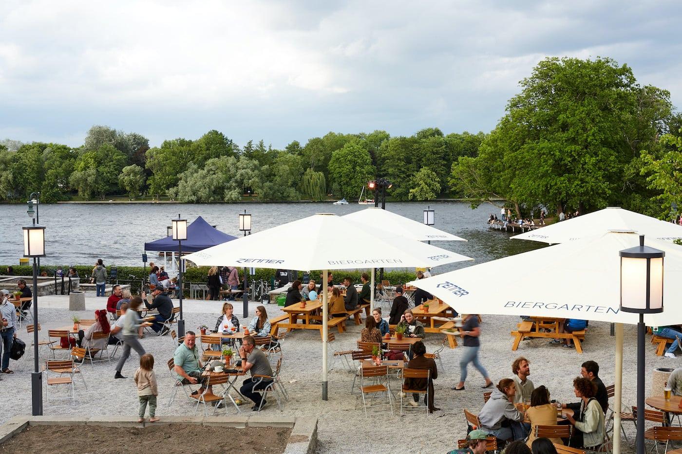 Biergärten für Familien: Zenner Bier- und Weingarten // HIMBEER