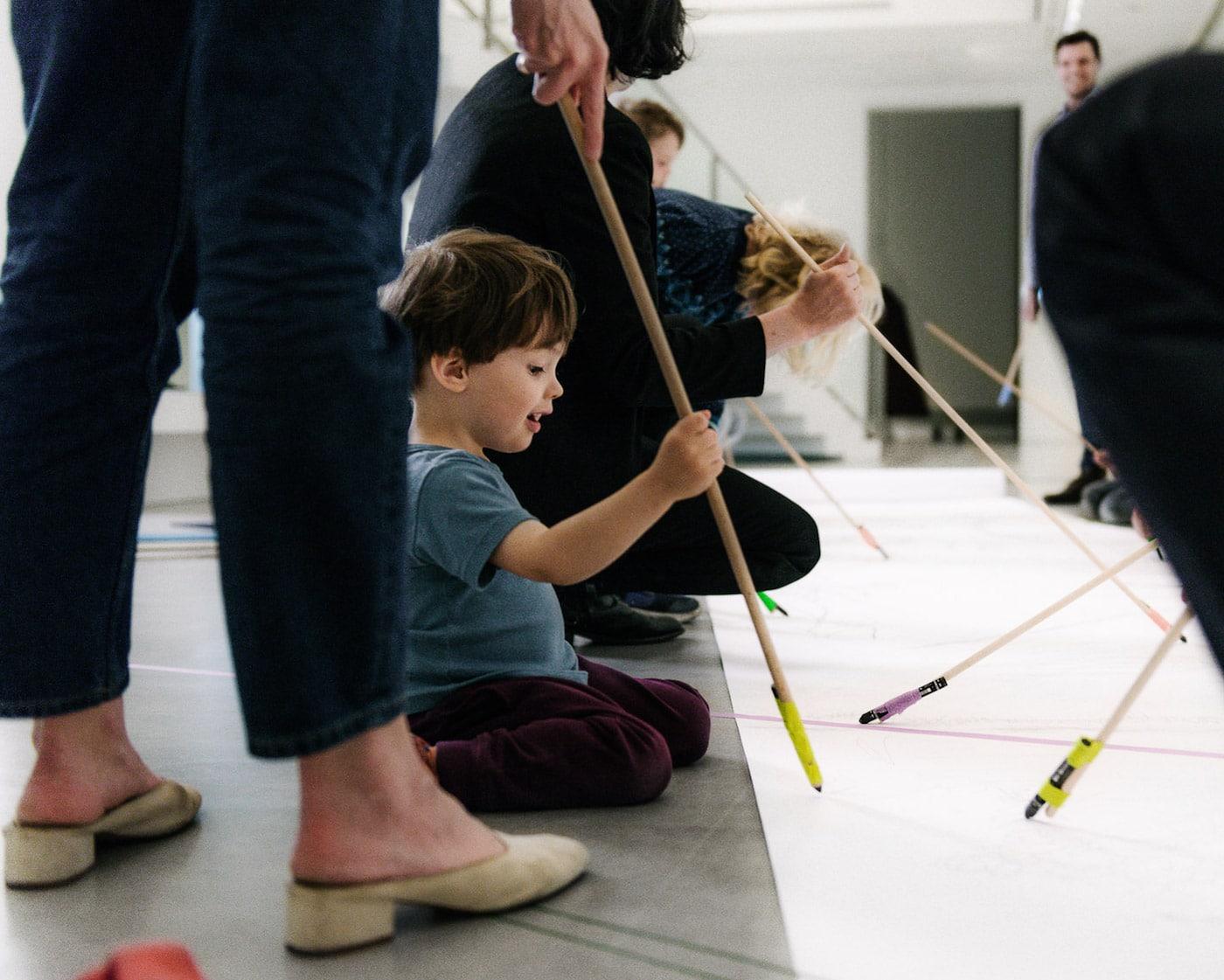 Festival Einzeichnen in der Berlinischen Galerie mit Familienprogramm // HIMBEER Magazin
