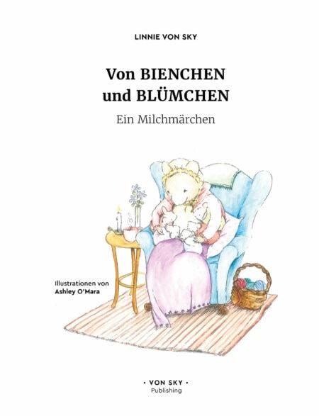 Bilderbuchtipp: Von Bienchen und Blümchen – Ein Milchmärchen // HIMBEER