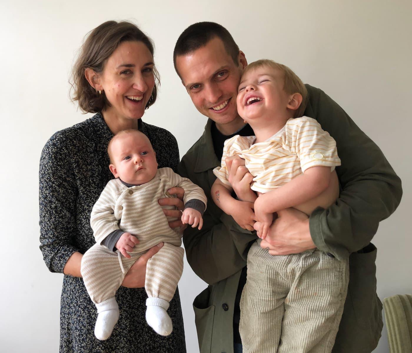 Kinderbuch-Duo Tabea und Jeremias Wolf mit Kindern // HIMBEER