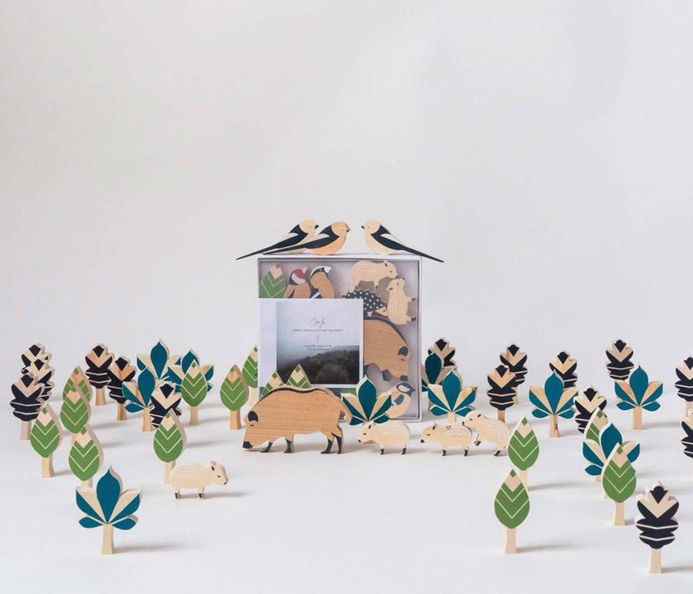 Herbst-Lieblingssachen: Schönes Holzspielzeug für Kinder: Waldtiere // HIMBEER