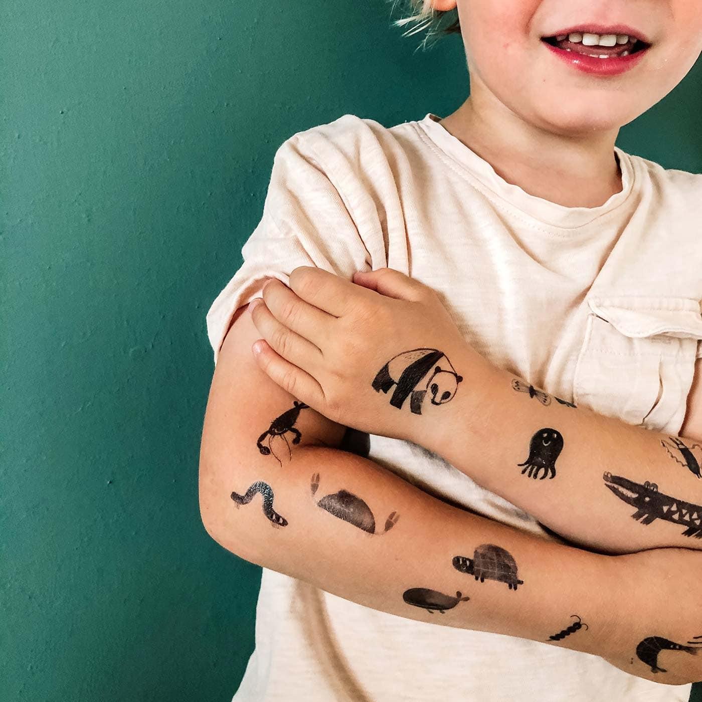 Super Tattoos für Kinder von Karin Lubenau bei nuuk // HIMBEER