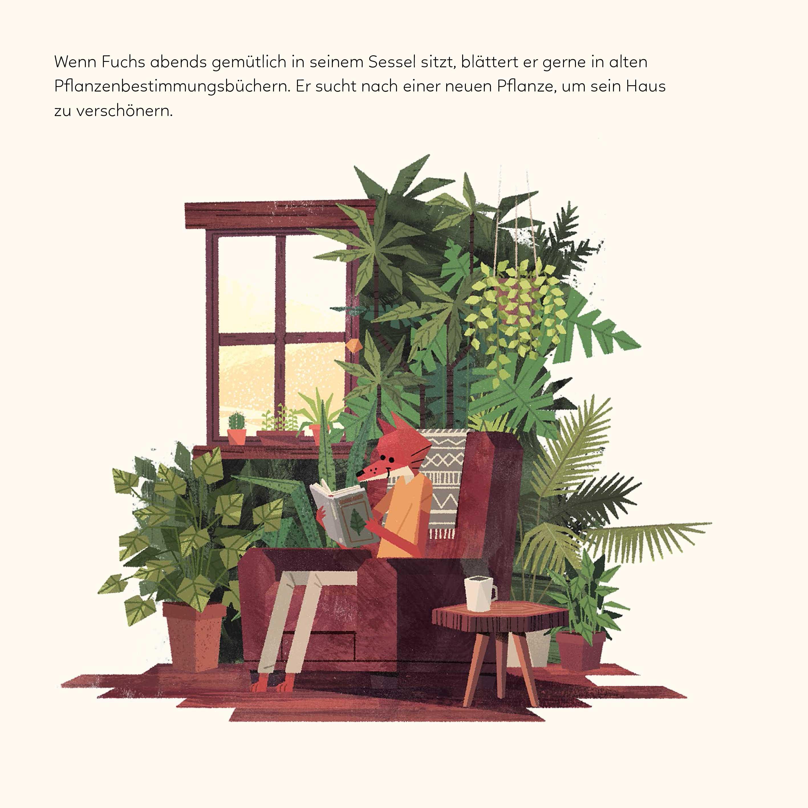 Kinderbuch-Tipp: Fuchs auf der Suche nach der Goldenen Funkelblume // HIMBEER