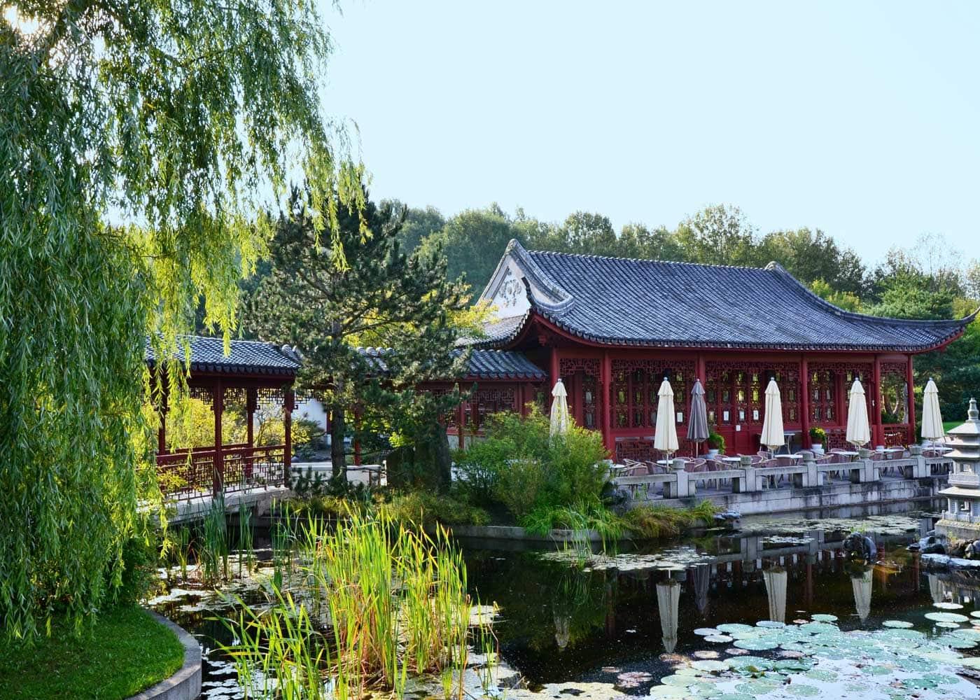 Das letzte Septemberwochenende – Tipps für Familien mit Kindern in Berlin: Chinesischer Garten in den Gärten der Welt // HIMBEER