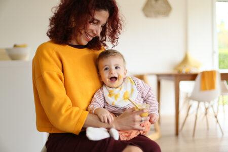 yamo Bio-Babynahrung jetzt gratis bei dm testen // HIMBEER