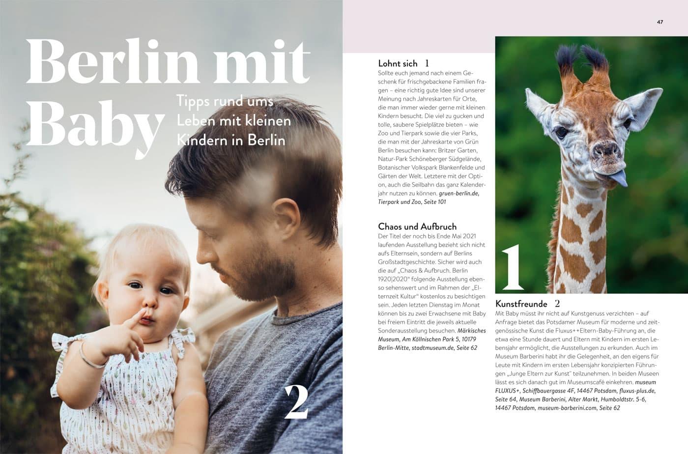 HIMBEER Buch: Berlin mit Baby 2021 // HIMBEER