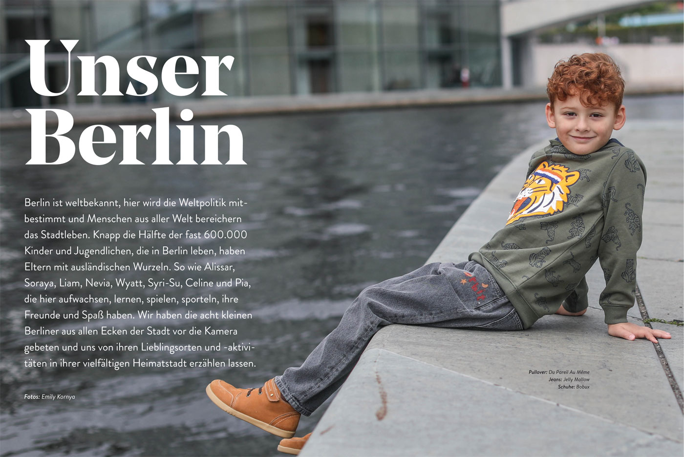 HIMBEER Buch BERLIN MIT KIND 2021: Berliner Kinder // HIMBEER
