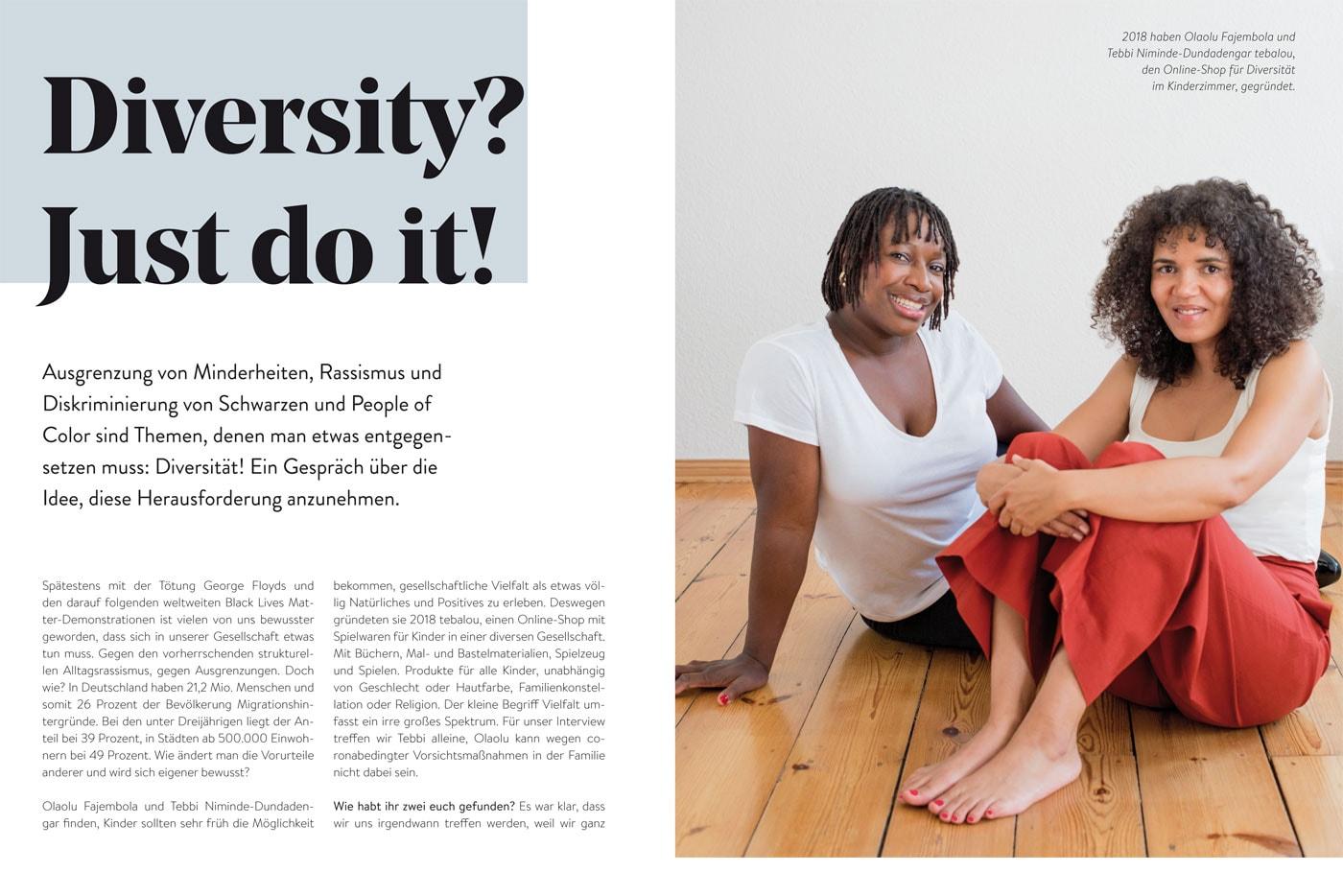 BERLIN MIT KIND 2021: Diversität im Kinderzimmer // HIMBEER