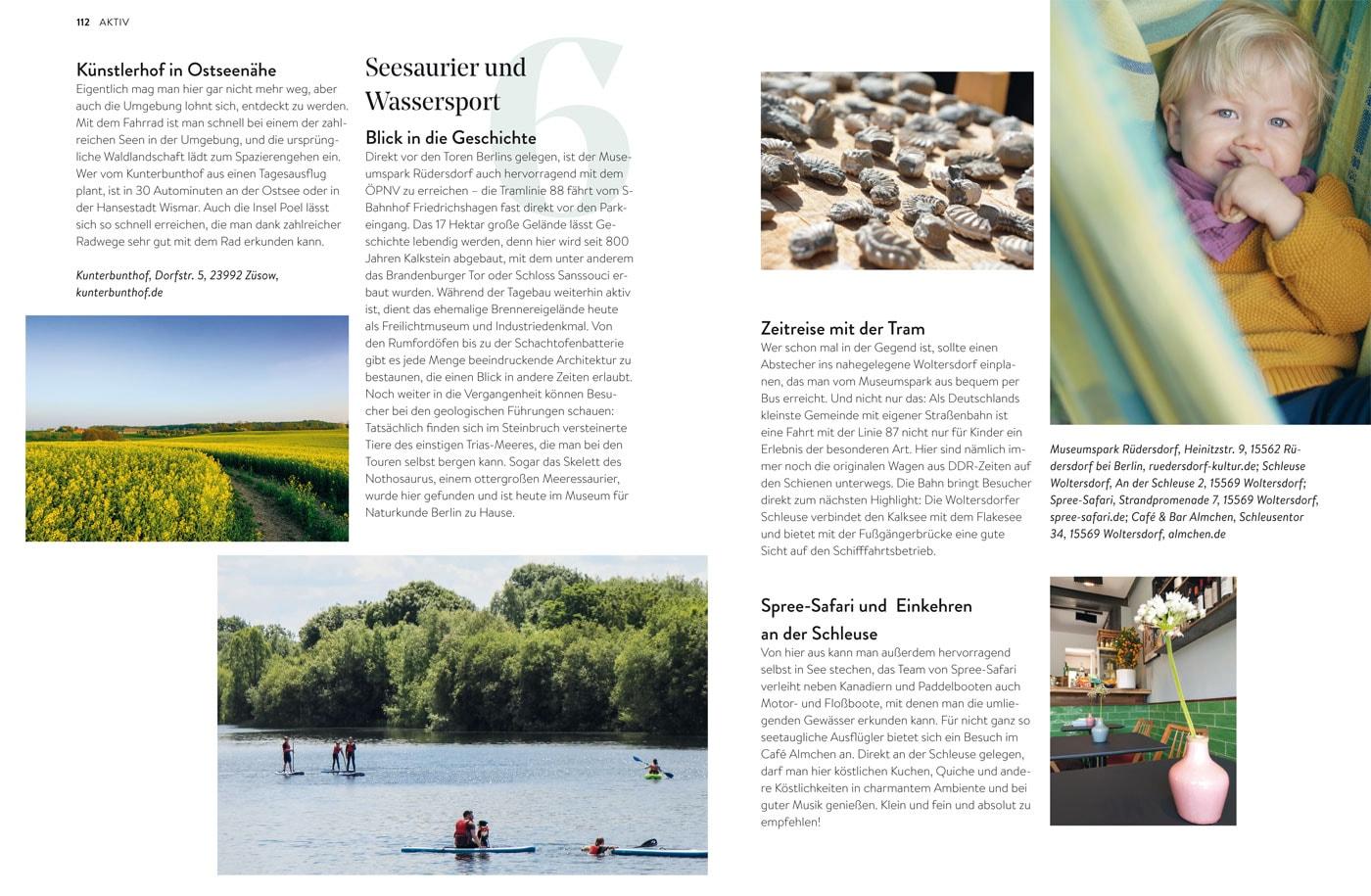 Ausflugstipps für Familien im HIMBEER Buch BERLIN MIT KIND 2021 // HIMBEER