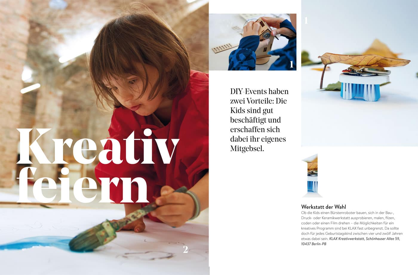 BERLIN MIT KIND 2021: Kreative Kindergeburtstage in Berlin feiern // HIMBEER