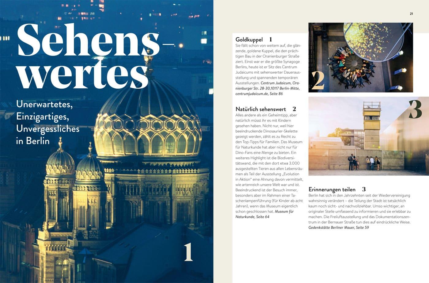 HIMBEER Buch BERLIN MIT KIND 2021: Sehenswürdigkeiten in Berlin für Familien // HIMBEER