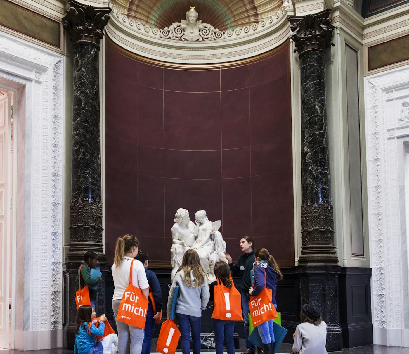 Ferienprogramm in den Staatliche Museen zu Berlin für Familien mit Kindern in Berlin // HIMBEER