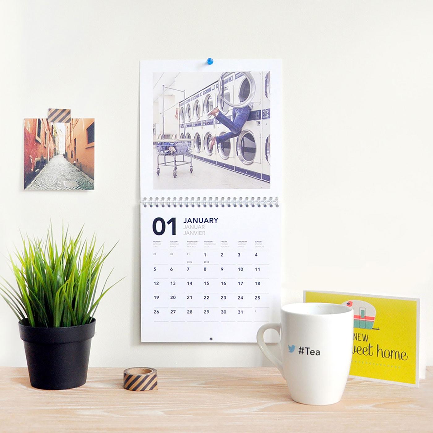 Gute Apps: Fotokalender gestalten mit LALALAB Foto-App // HIMBEER