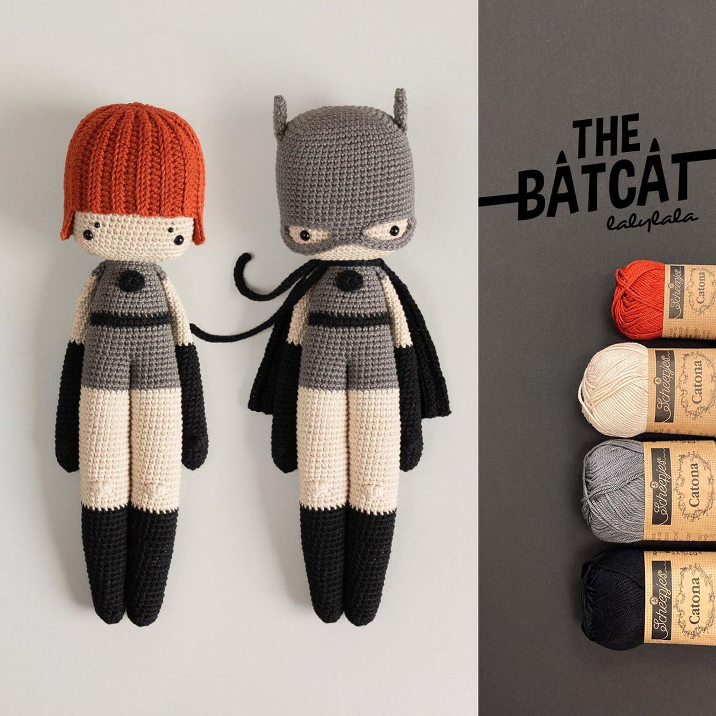 Herbst-Lieblingssachen für Kinder: Häkel-Set Superheldin Batcat von laylaland auf Etsy // HIMBEER